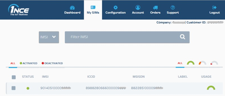 SMS Functionality   Documentation and manual   1NCE - The IoT Natives