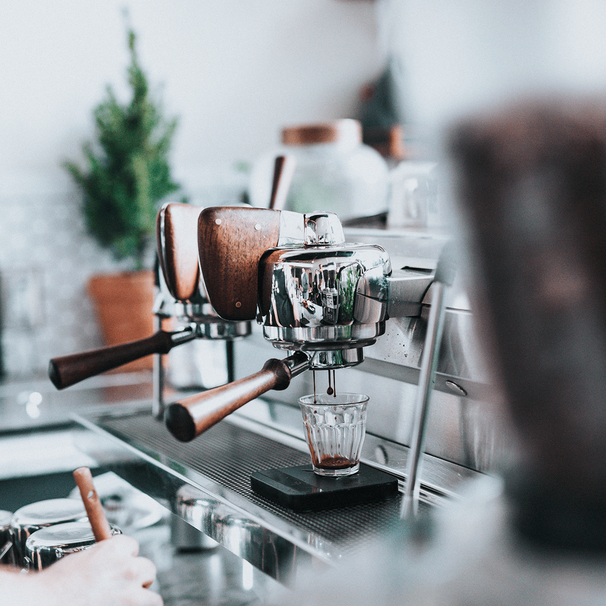 Connected coffee machines as an example of Bibe Coffee's IoT use case
